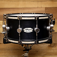 14 x 7 in Black with Inlaid Hoops