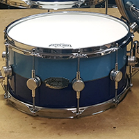 14 x 6.5 in Blue 2-Tone with Inlay