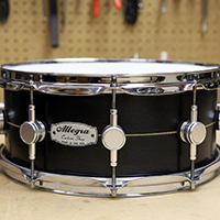 14 x 6 in Black with Inlay