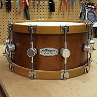 14 x 7 in Tobacco with Wood Hoops