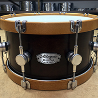 13 x 7 in Brown with Wood Hoops
