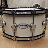 14 x 7 in Olympic White with Inlaid Hoops