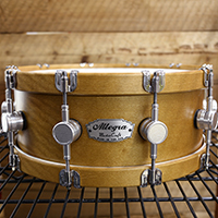 14 x 5.5 in Vintage Maple with Wood Hoops