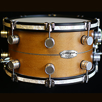 13 x 7.5 in Vintage Maple with Inlay & Inlaid Hoops